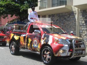 Fireman on truck IMG_7895