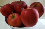 Bowl of Red Ripe Apples 2