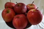 Bowl of Red Ripe Apples