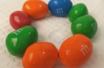 M & Ms In A Circle