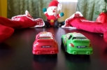 Santa and the Sports Cars