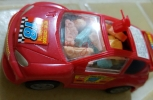 Red Sports Toy Car