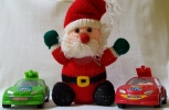 Santa and his cars